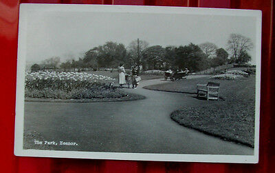 Real Photo Postcard The Park Heanor District View Publishers Excellent