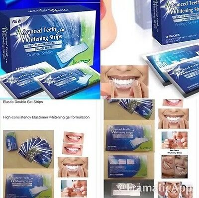 3D WhiteStrips professional Teeth Whitening 14 Strips 1 Box Blanchiment De dents