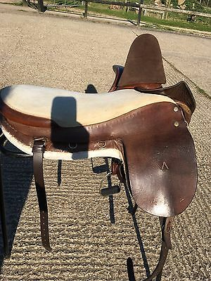 "Champion and Wilton 18"" sidesaddle"