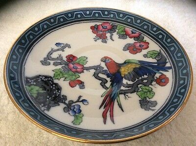 Losol Ware Andes Keeling &Co Macaw Plate/ dish