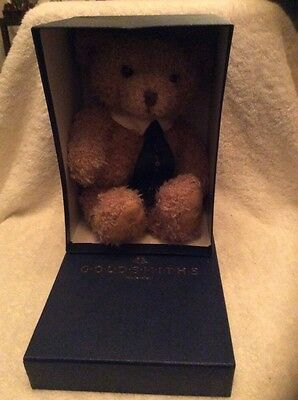 Goldsmiths Collectors Teddy Bear Millennium Edition 2000