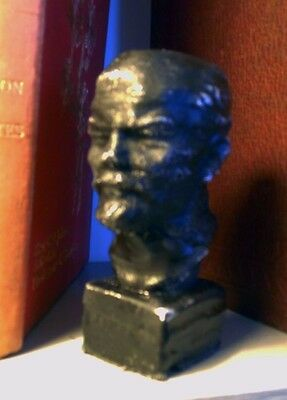 Bust of Lenin in a barn find style by the Lord Buller foundry