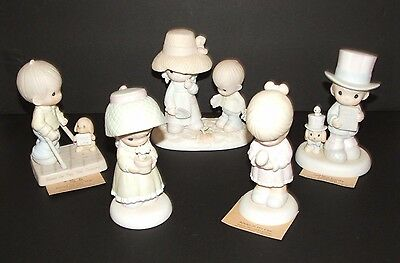 Lot of 5 Precious Moments Lot Limited Edition Special Edition Figurines