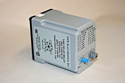 .05 SEC-100 Hour Time Delay Relay - 12VAC/DC - Interval ON (100-383)