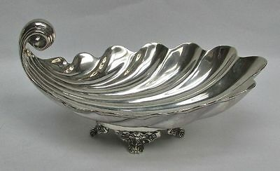 Outstanding Sanborns Sterling Silver Scallop Shell Candy Dish