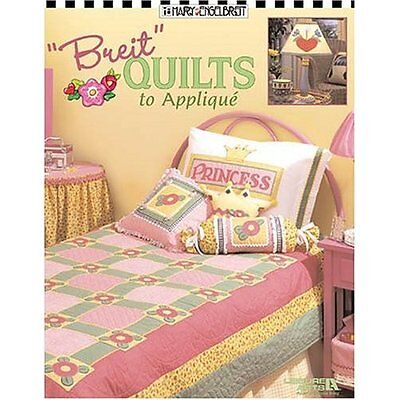 "Quilting Pattern Book ""breit"" Quilts To Applique 23 Projects"