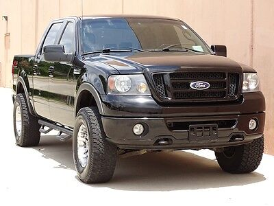 2008 Ford F-150 FX4 Crew Cab Pickup 4-Door 2008 FORD F150 FX4 CREW CAB 4X4 ACCIDENT FREE TEXAS TRUCK CARFAX CERTIFIED