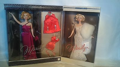 2 Marilyn Monroe Barbies: How To Marry A Millionaire & Timeless Treasures! Nrfb!