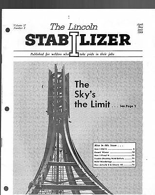 1968 The Lincoln Stabilizer Magazine-Published By Welders-Lincoln Electric Co.