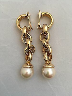 Courreges Signed Vintage Earrings