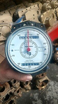 "New Badger Water Meter Recordall 2""-3"" Compound Register Gallons Low Flow"