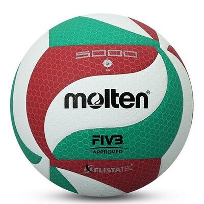 Molten Volleyball Ball V5M5000 PU Soft Touch Size 5 Volleyball