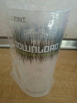 Download festival 2017 limited edition pint beaker