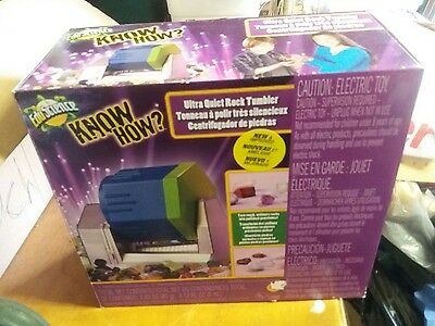 Kids Rock Tumbler Kit, Polishing, Jewelry,  Stones Rocks, QUIET