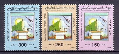 Libya 1998 - Stamps 3v- Evacuation of Foreigh Forces - MNH ** Excellent Quality