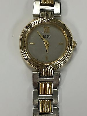 Ladies Gold and Silver Citizen Watch AN