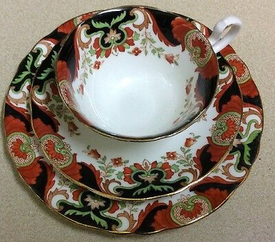 Vintage Aynsley Trio - Cup, Saucer And Tea Plate  Patt. A4465