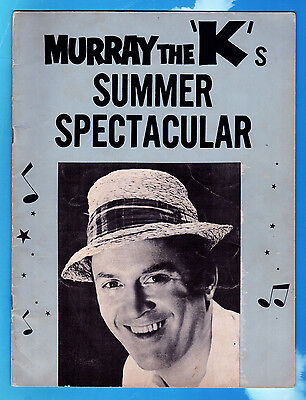 """1965 Murray The K's""""SUMMER SPECTACULAR""""PROGRAM (""""The 5th Beatle),Early """"HELP"""" Ad"""