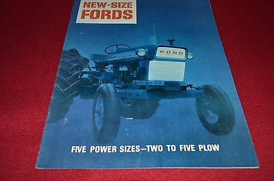 Ford 2000 3000 4000 5000 6000 Commander Tractor Dealers Brochure YABE13