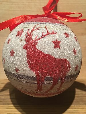 Beautiful Reindeer Christmas Holiday Tree Ornament