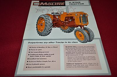 Minneapolis Moline 4 Star Tractor Dealers Brochure YABE13