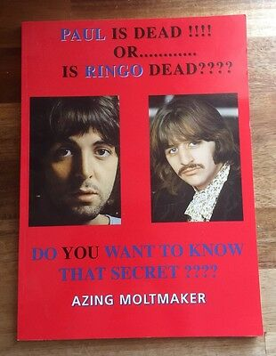 THE BEATLES - Paul Is Dead Or Is Ringo Dead ? - Book . NEW