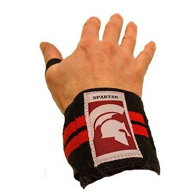 Spartan Wraps For Weight Training, Heavy Duty Wrist Wraps For Bodybuilding