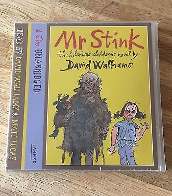 Mr Stink Book by Walliams  David (CD-Audio) NEW