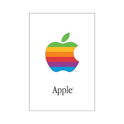 """APPLE COMPUTER POSTER 16"""" x 24"""" Ultra-High Quality on Archival Paper  Mac"""