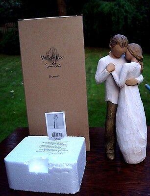 Willow Tree Figure Figurine Promise - Boxed 2003 Excellent Condition