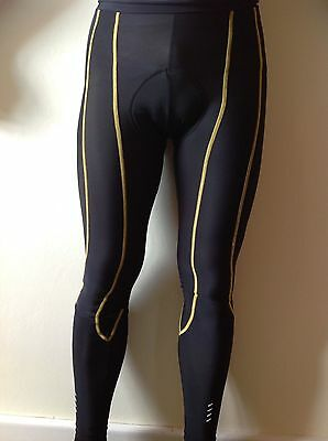 Skins Cycling Pro Mens Long Compression Tights. Size small. Padded.