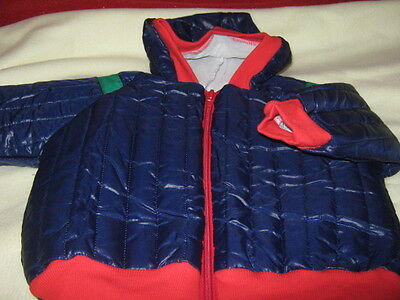 Vintage 70's retro jacket age 3 New old stock