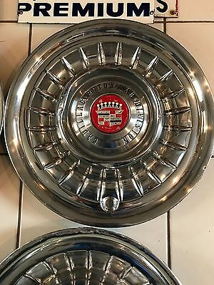 RARE VINTAGE 1958 CADILLAC HUB CAPS 3 are available price per each your choice