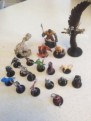 20x dungeons and dragons miniatures