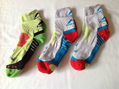 Cycling socks more miles medium good used condition.