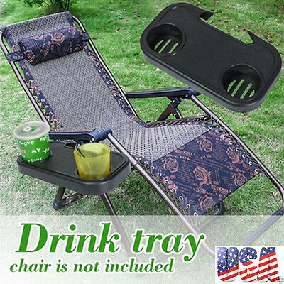 Clip-On Portable Folding Camping Picnic Outdoor Beach Chair Side Table For Drink
