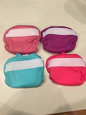 BumGenius AIO XS Newborn Cloth Diapers, Lot Of 4, All In One's