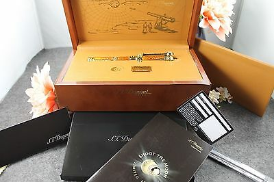 S.T DUPONT PRESIDENT SHOOT THE MOON  LE RollerBall. 150/1865 MSRP 4800.00