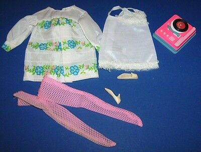 Francie #1229 Sugar Sheers 1960s mod Fashions outfit doll clothes Vintage Barbie