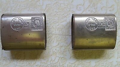 Rare Estate Find 1892 Grover Cleveland Match Holders?