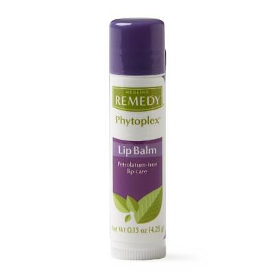Medline Remedy Phytoplex Lip Balms, Moisturizer, oxygen-rich 0.15 oz. (3 Packs)