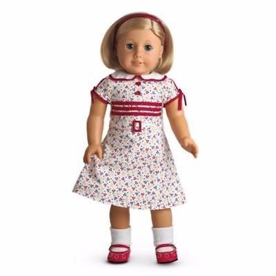 American Girl Kits  Retired Reporter dress Shoes Socks Headband outfit NO DOLL