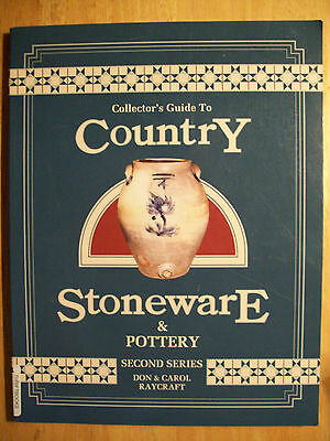 Country Stoneware Price Guide Collector's Book Crocks Jugs Jars Pitcher Coolers