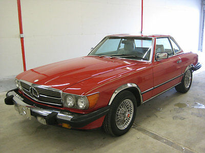1986 Mercedes-Benz 500-Series SL 1986 MERCEDES 560SL-SIMPLY STUNNING THROUGHOUT-RUNS 100%-TO BE SOLD NO RESERVE