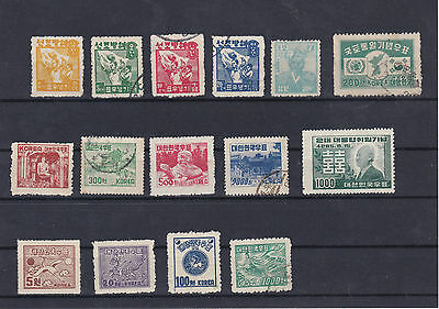 South Korea Mounted And Used Stamps Ref: R5794