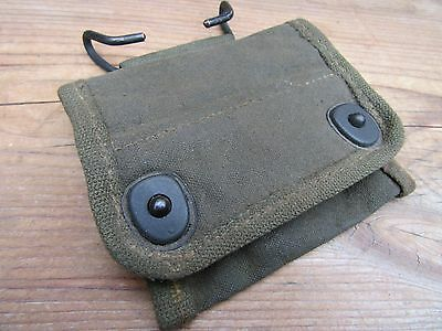 100%Orig Unissued WWII WW2 M1938 Water Proofed Officer NCO Compass Belt Pouch