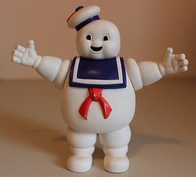 """Stay Puft Marshmallow Man Toy Figure Figurine, Ghostbusters 1984, 7"""" tall"""
