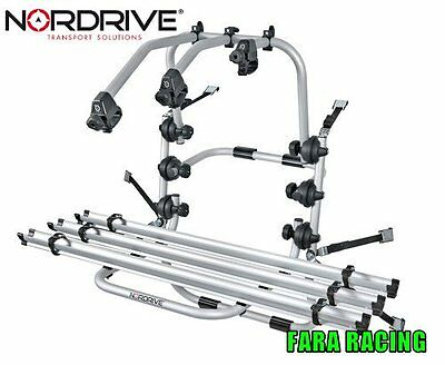 Nordrive N50400 Follow-me AX3 portabici post Volkswagen Golf VII Variant 10/13>