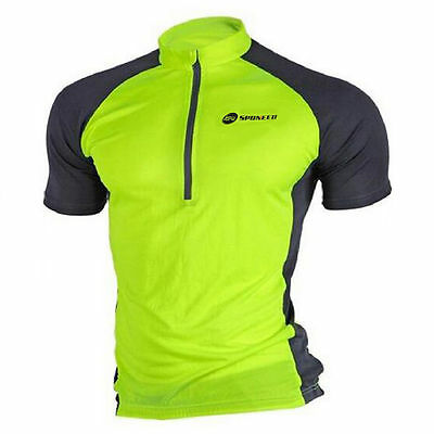 Mens Bike T Shirts Short Sleeve Outdoor Sports Tops Clothing Cycling Jersey XL