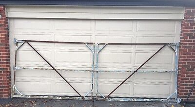Gate Frame STRONG REINFORCED Double - Steel Gates. Metal Frame 2x 2240x1650mm(H)